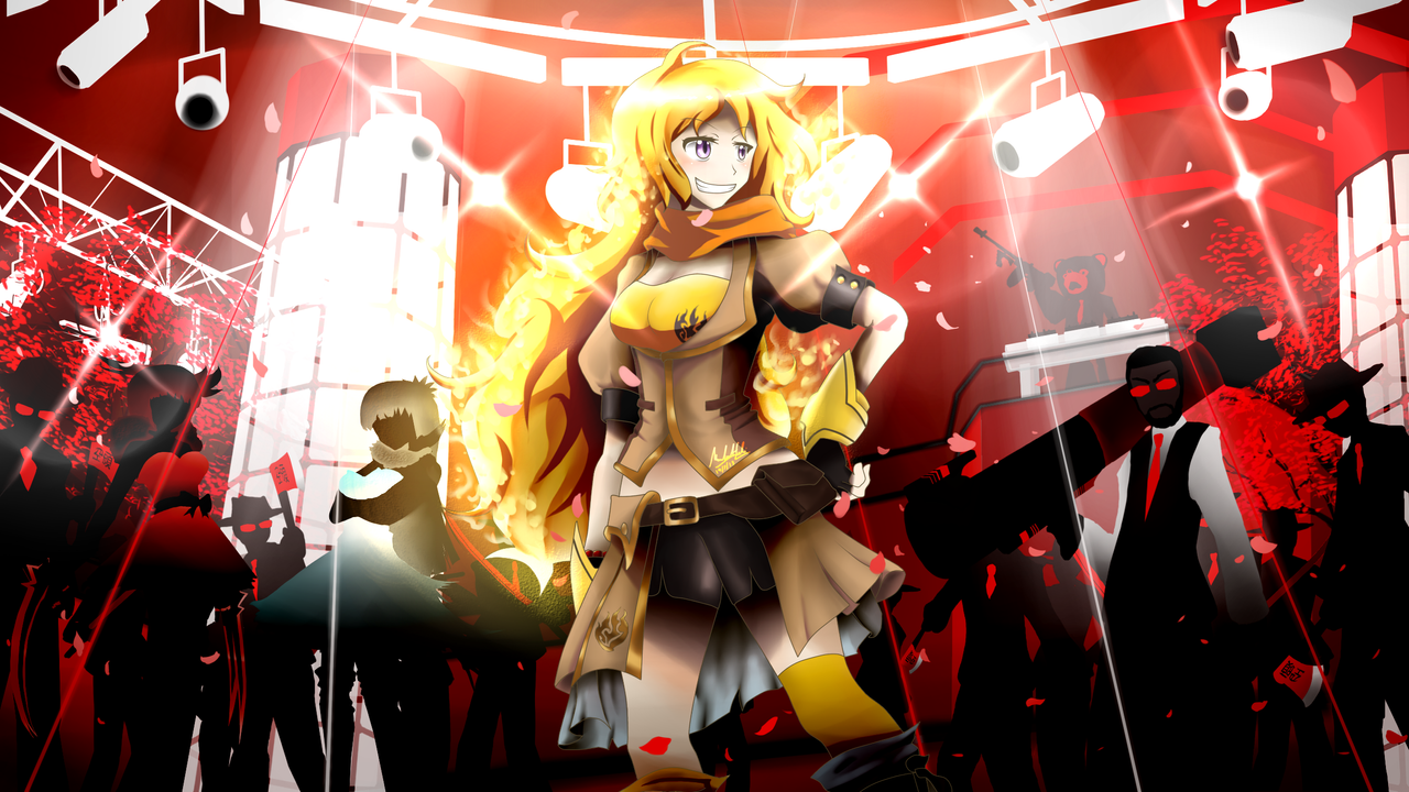 RWBY - Yang Xiao Long by SSgt-LuLZ