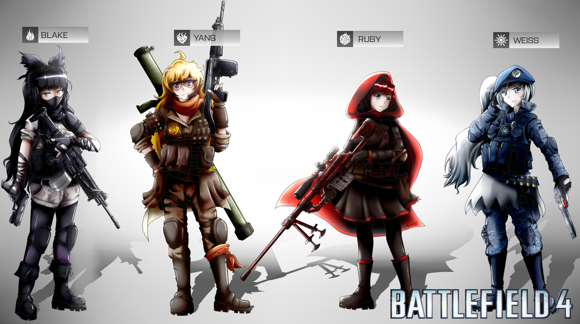 Battlefield 4 rwby squad by ssgt lulz on deviantart battlefield 4 rwby squad by ssgt lulz voltagebd Gallery
