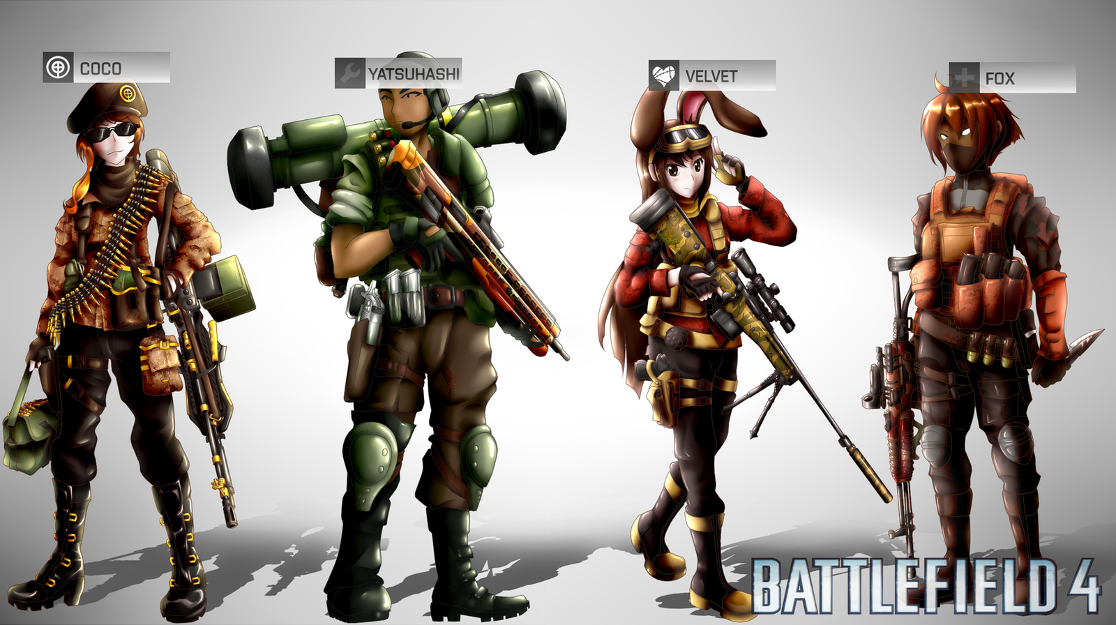 Battlefield 4: Team CFVY by SSgt-LuLZ
