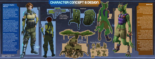 Character Design: by SSgt-LuLZ