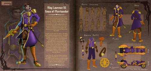 Character Concept: King Lawrence IV by SSgt-LuLZ