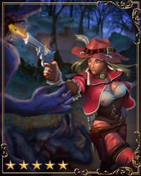 Card Illustration - Van Helen the Slayer by SSgt-LuLZ