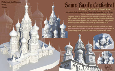 3D: St Basil's Cathedral by SSgt-LuLZ