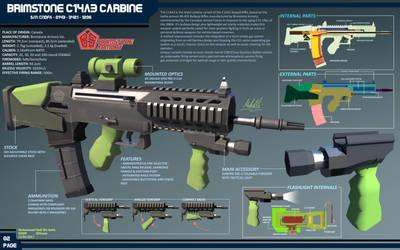 Concept Firearm - C14A3 Carbine by SSgt-LuLZ