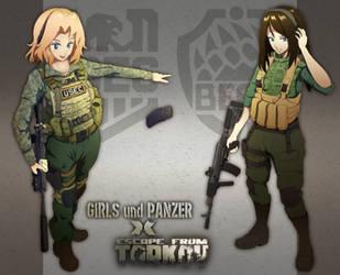 GuP X EFT: Girls und Tarkov by SSgt-LuLZ