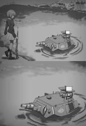 Girls und Panzer of the Lake