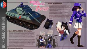 GuP X RWBY: Black Cat of BC Freedom