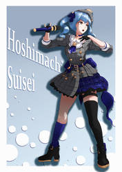 Hololive's Shining Comet: Hoshimachi Suisei