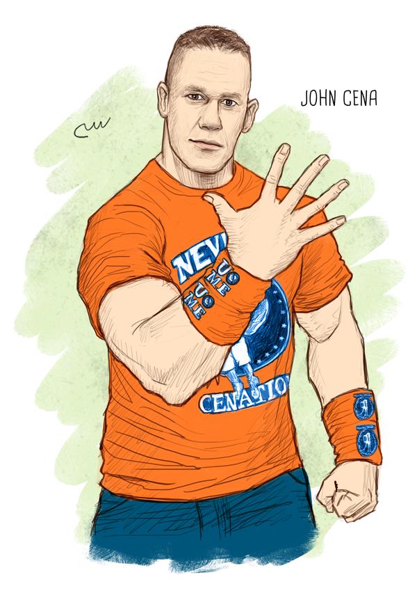 Wwe John Cena By Baguettepang On Deviantart