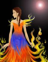 Katniss by xYue-Mayx
