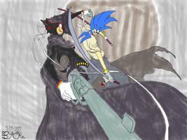 Sonic Samurai VS Shadow Justice