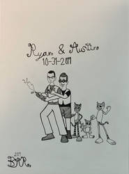 Ryan and Austin just married