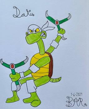 Daku the Ninja LongNecked Turtle