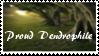 Proud Dendrophile stamp by lemurkongen