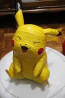 Pikachu Life Size by KokoroPapercraft