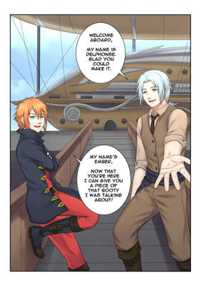 [Manga Page Commission] 01