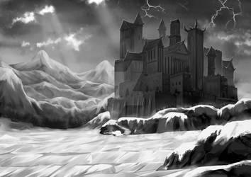 [Concept Art] Dark Alien Castle