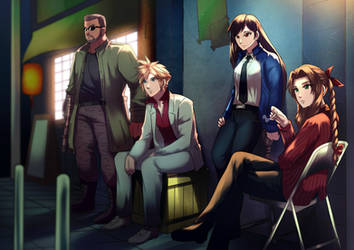 Final Fantasy x Yakuza Parody
