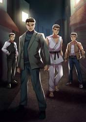Yakuza x Shenmue Parody