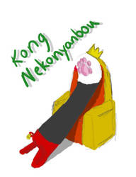 King Nekonyanbou by Golgster