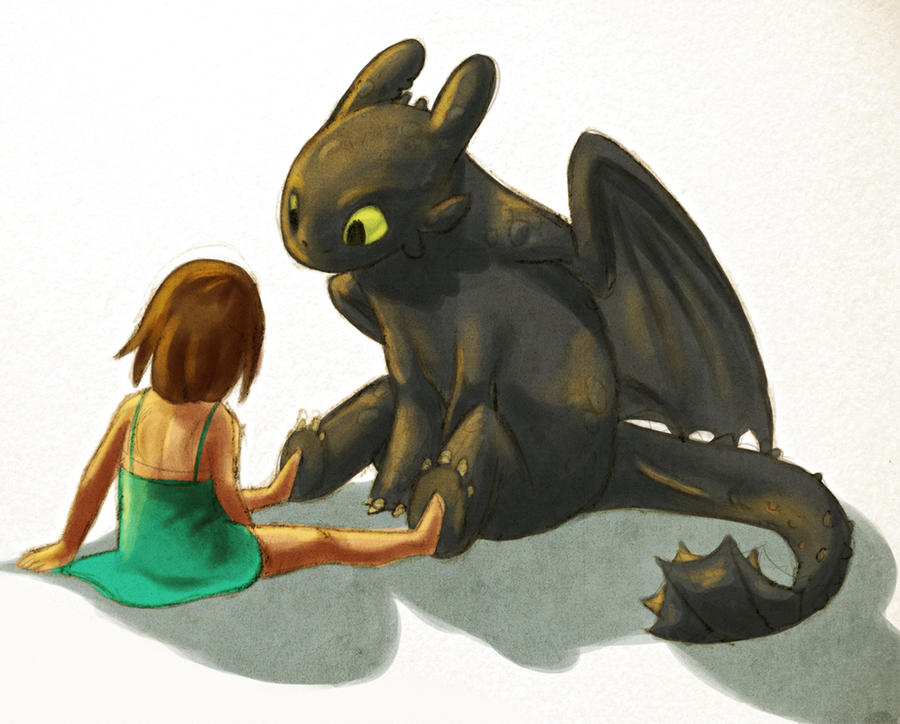 how to train your dragon fanfiction watching the future