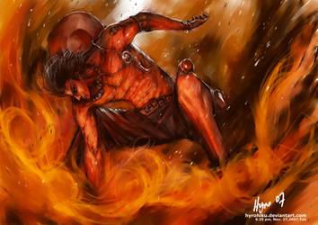 Ace's fire by hyrohiku