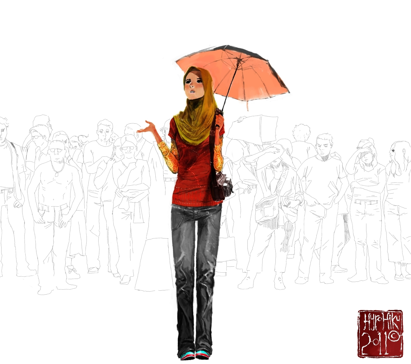 Rain or not by hyrohiku