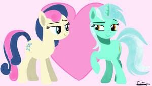 Lyra and BonBon Day