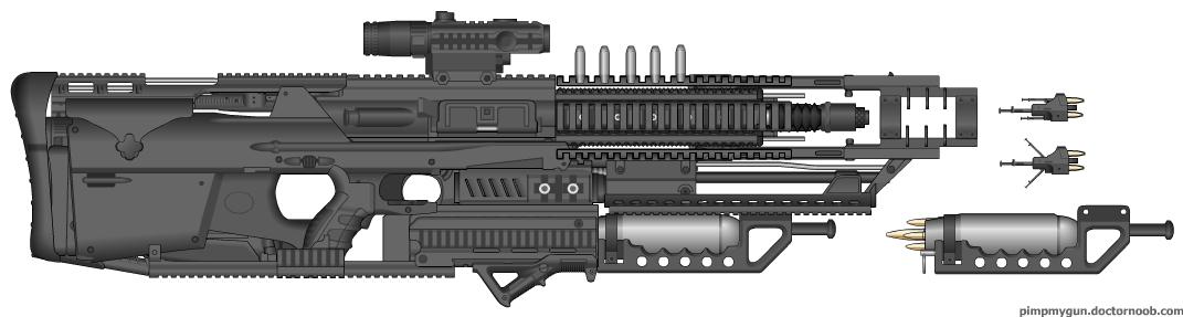 """XEM-27 """"Arc Caster"""" by Sakaryu"""