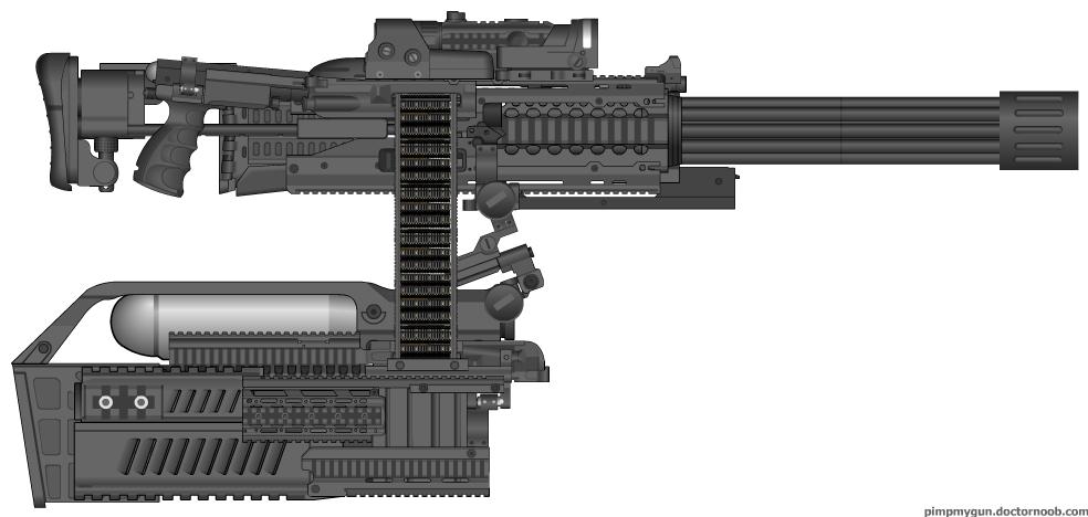 Gatling Gun Fun by Sakaryu on DeviantArt