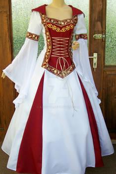 Medieval dress Lorena