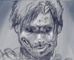 Zombie Guy by TheOnlyWolf100