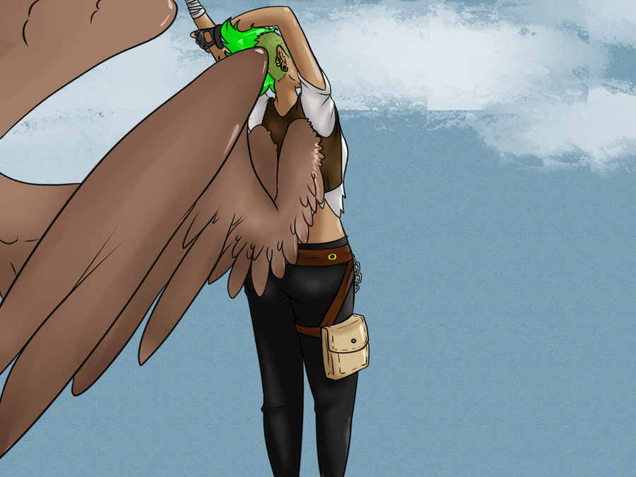 Bird Girl OC by AkatsukiFan1