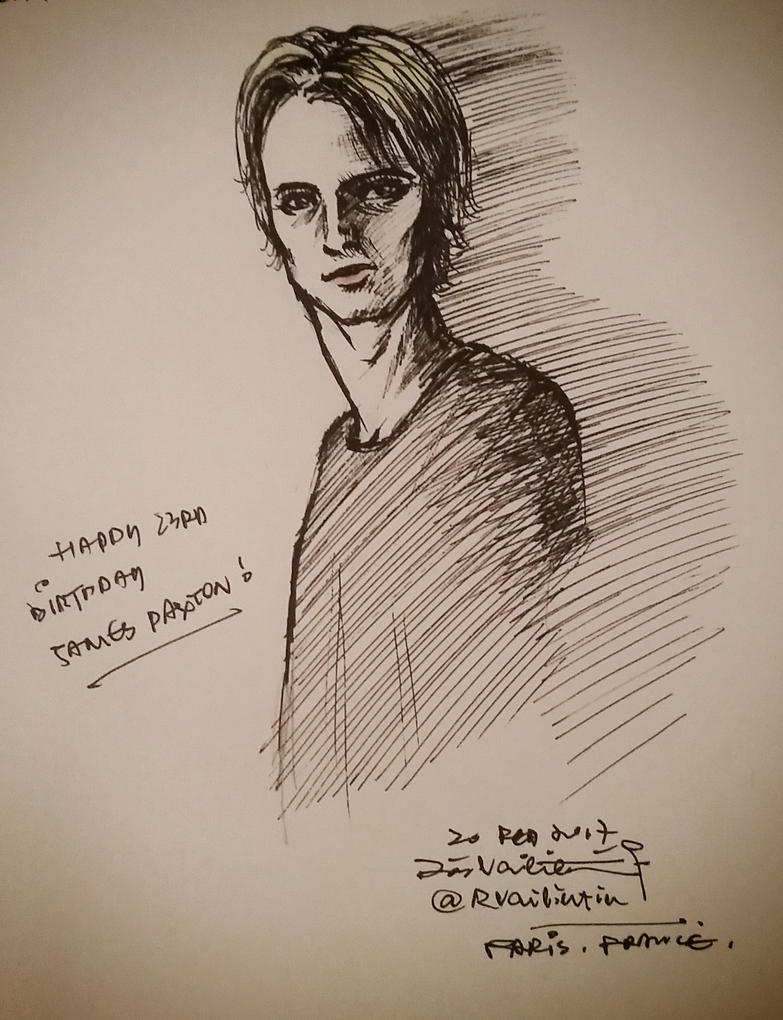 James Paxton Birthday Fanart by RosVailintin