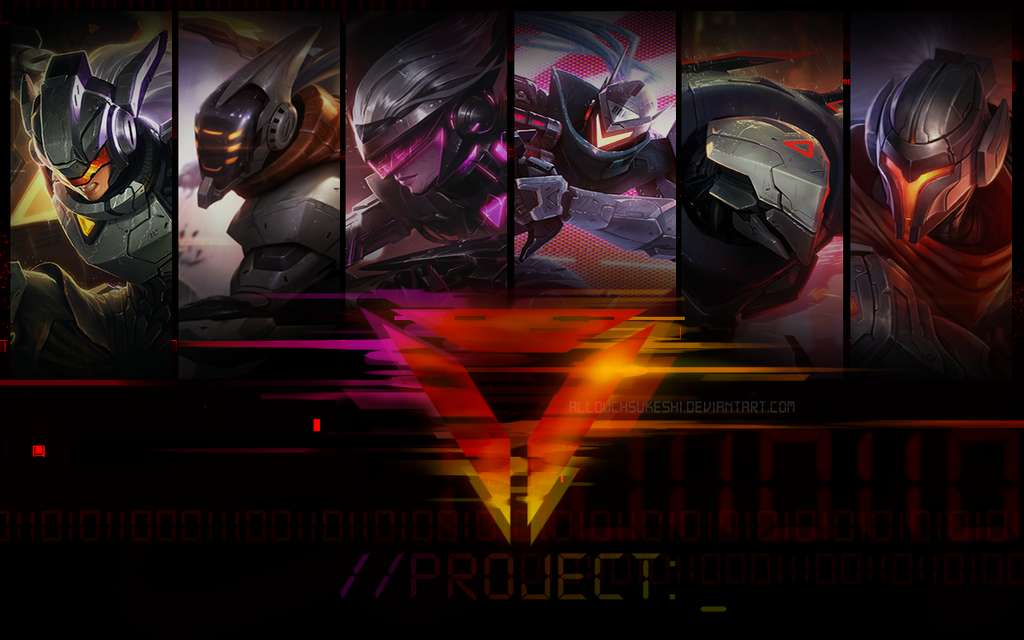 PROJECT Wallpaper By AllouchSukeshi