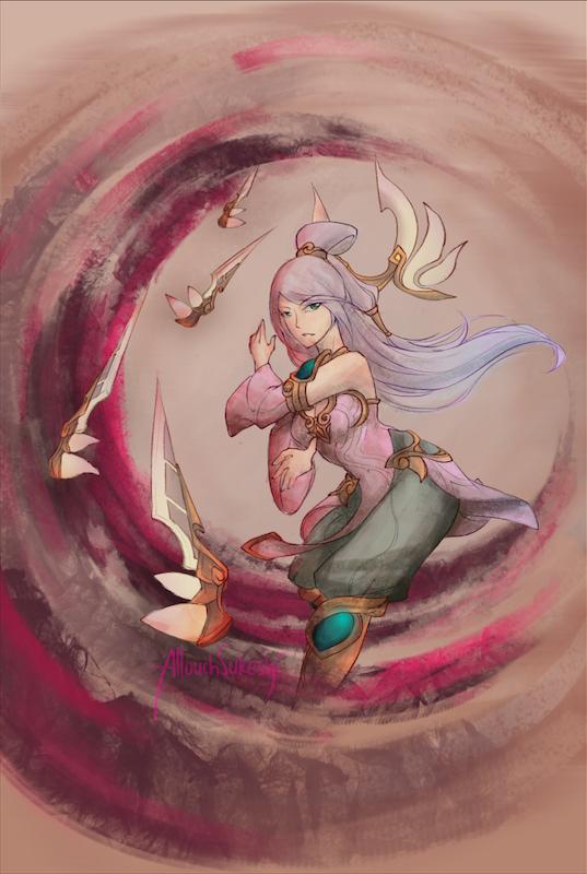 Order of Lotus Irelia by AllouchSukeshi