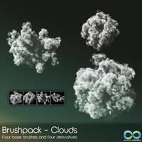 Premium BrushPack - Clouds by PerpetualStudios