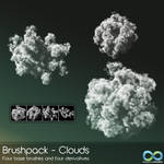 Premium BrushPack - Clouds