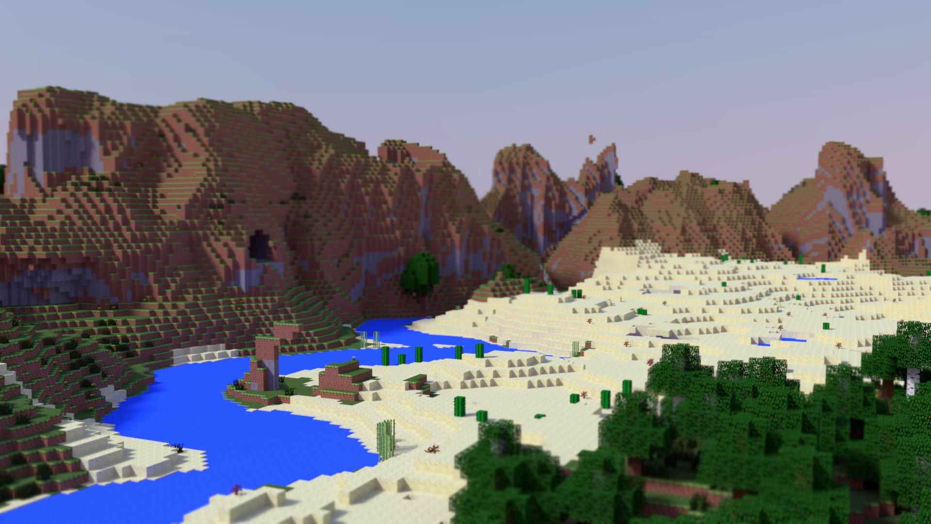 Minecraft Landscape by PerpetualStudios