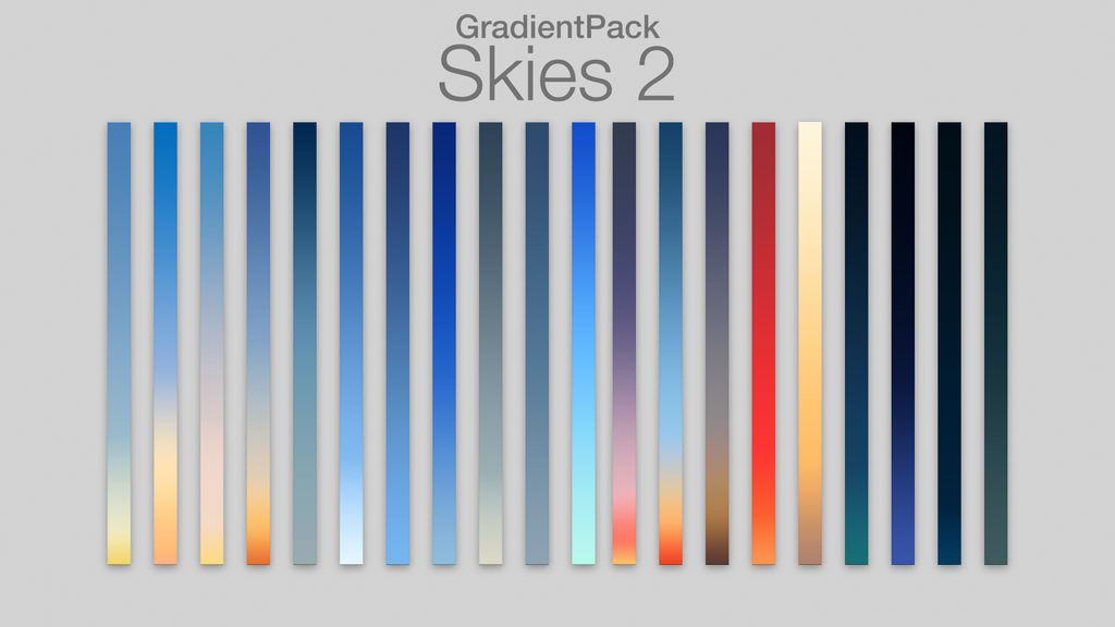 GradientPack - Skies 2 by PerpetualStudios