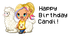 Happy B-Day Candi! by TheArtist3711