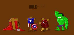 Hulk ate 'em all
