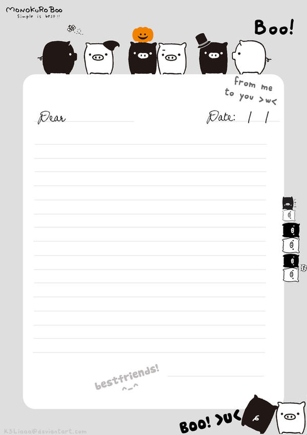 letter paper printable panda letterpaper by battleangelmel lined – Lined Letter Paper