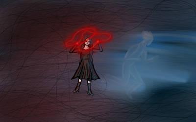 Wanda Maximoff (powerful female hero challenge)  by lafonki