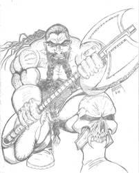 Dwarf Warrior by Demongrinder
