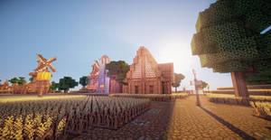 Minecraft Farmlands I by aquaarmor