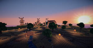 Minecraft Farmlands II by aquaarmor