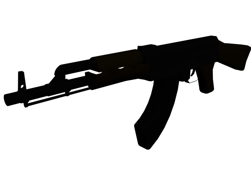 ak47 silhouette by ragingviper on deviantart rh deviantart com ak 47 vector free download ak47 vector free