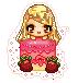 My OC Pixel Icon by heartzrainbow412