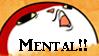 Mental!! Stamp by PrincessJey
